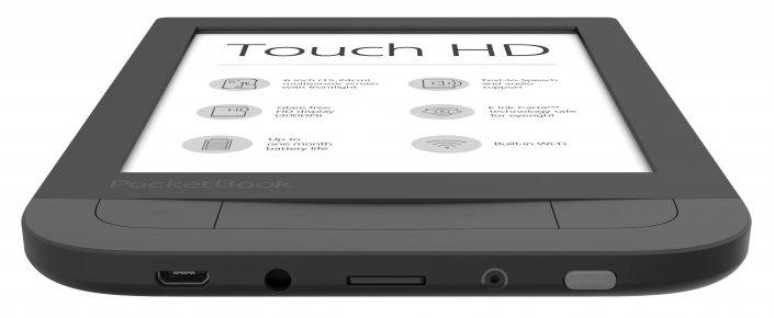 Anschlüsse des Pocketbook Touch HD