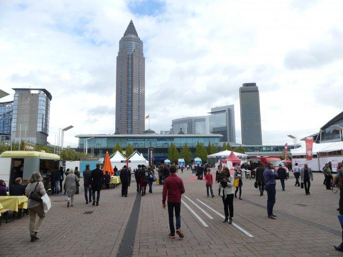 Anders als die Leipziger Buchmesse im Frühjahr richtet sich die Branchenschau in Frankfurt...