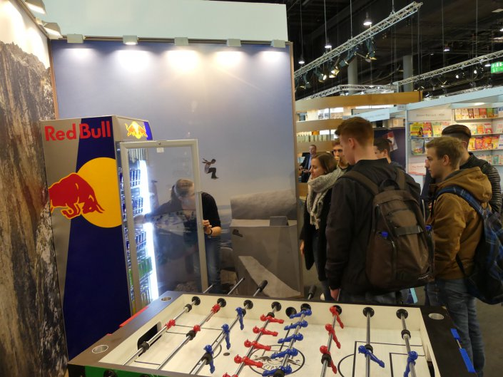 ...wie der Brausekonzern Red Bull mit seiner ehrgeizigen Verlagssparte...