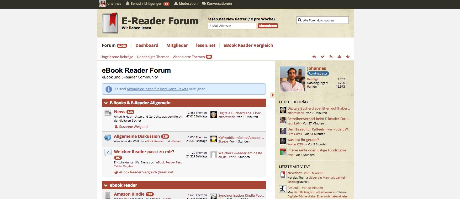 Lesen Net Forum