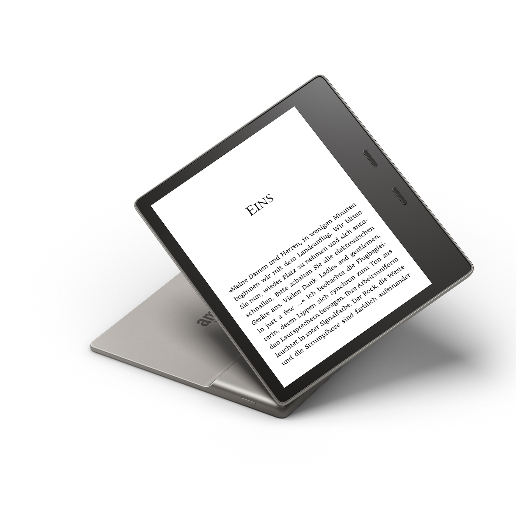 Amazon Kindle Oasis mit 7-Zoll-Display und 300 ppi